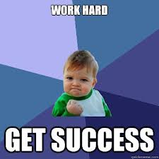 hard work for success