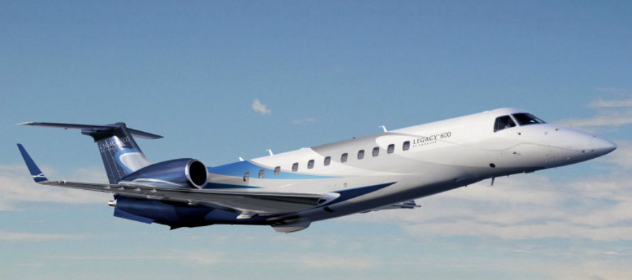 Ifeanyi Ubah Embraer Legacy 600 Private Jet
