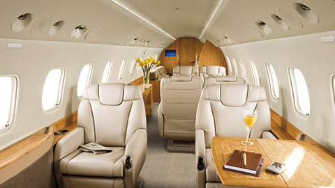 inside view Embraer Legacy 600 Private Jet